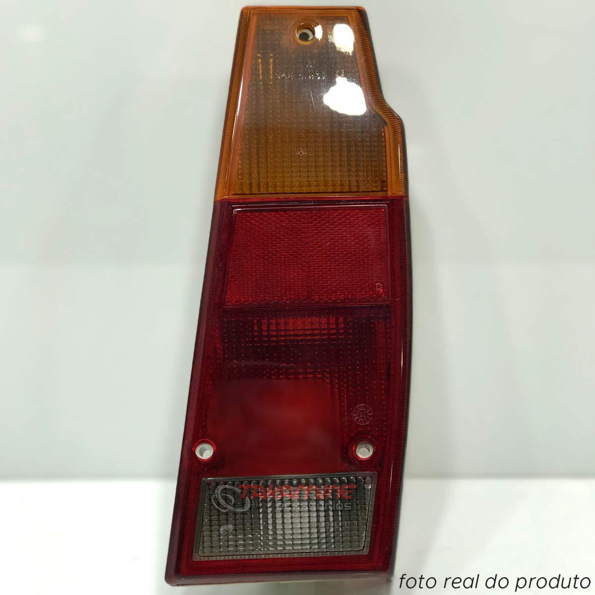 Lanterna traseira Parati 1987 até 1995 Saveiro 1987 até 1995 fumê lado direito