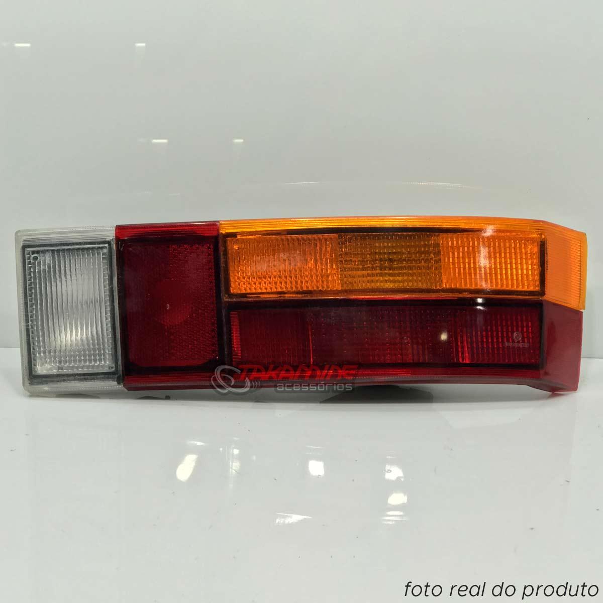 Lanterna traseira Passat 1974 até 1982 tricolor lado direito