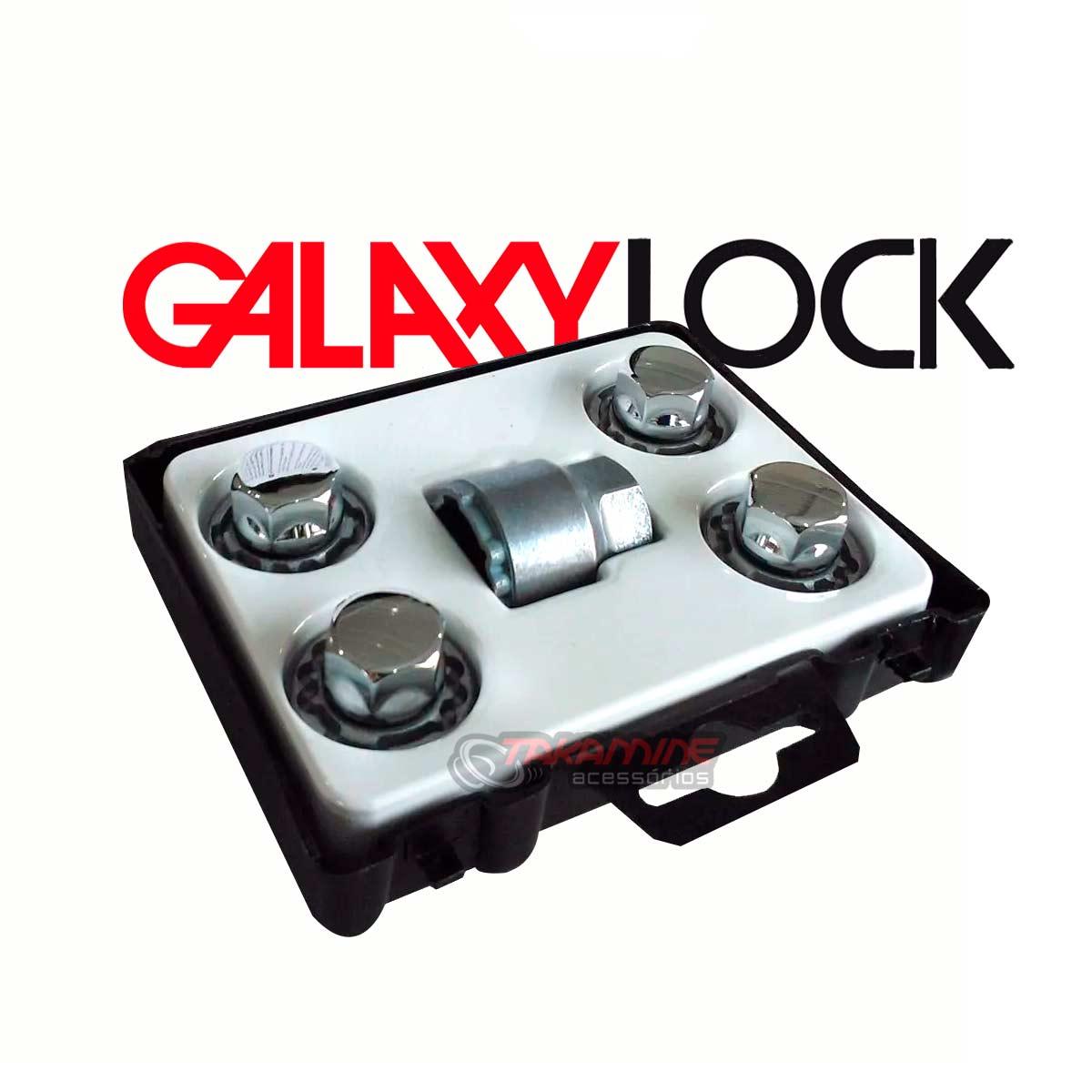 Porca antifurto para rodas Galaxy Lock Onix 2013 até 2020 H/M
