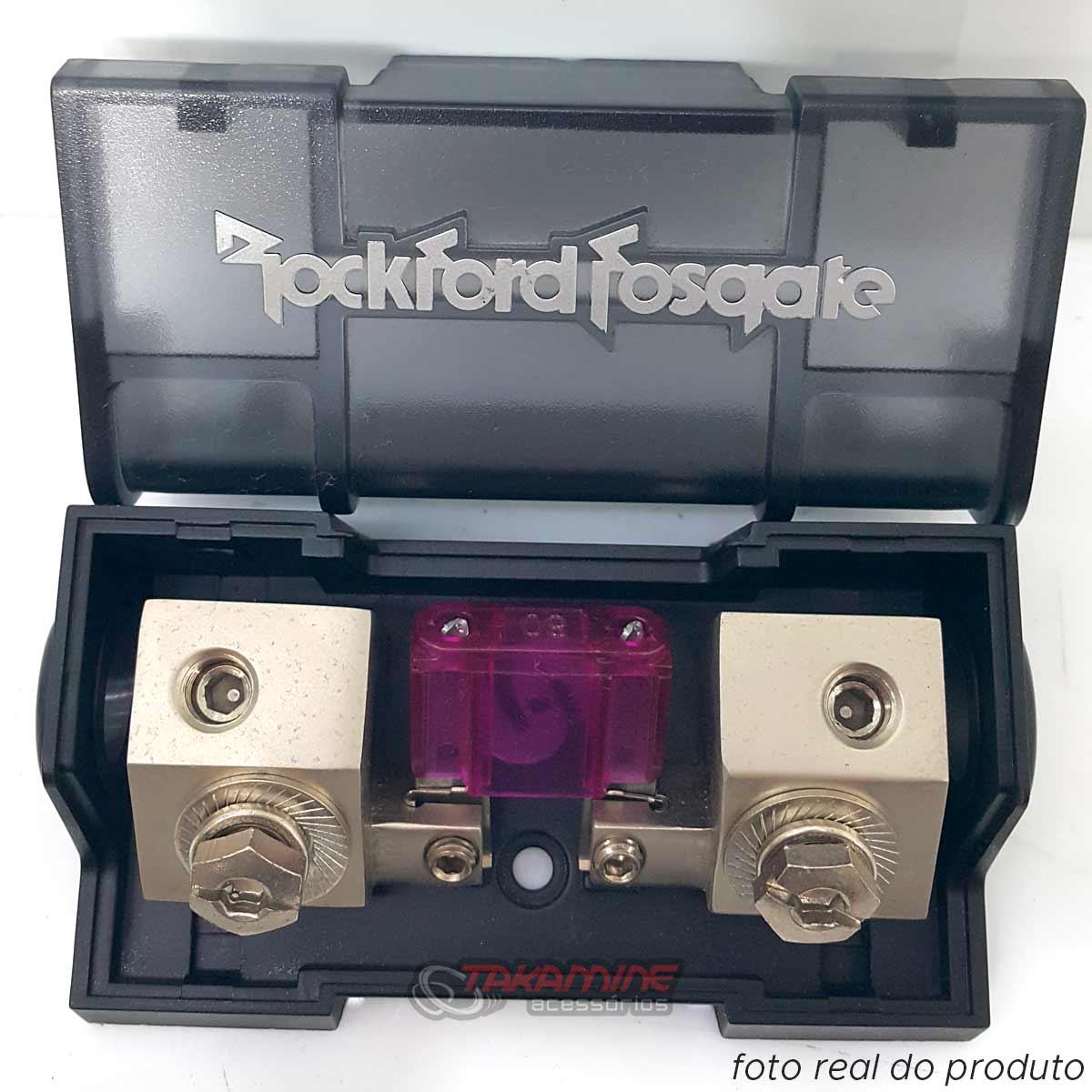 Porta fusível Rockford Fosgate para fio 4AWG