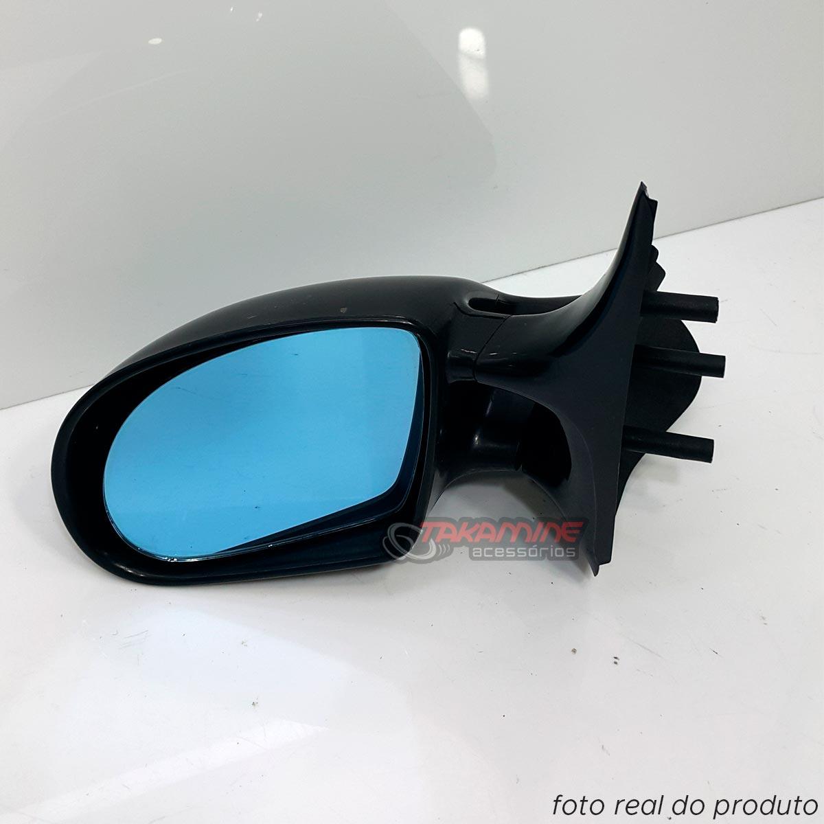 Retrovisor Indy Gol Bola Parati Bola com lente azul - fixo sem controle lado esquerdo