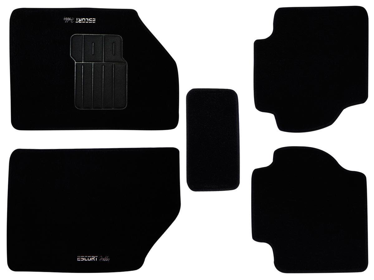 Tapete Carpete Ford Escort Hobby Personalizado com bordado nos dois tapetes dianteiros (5 peças)