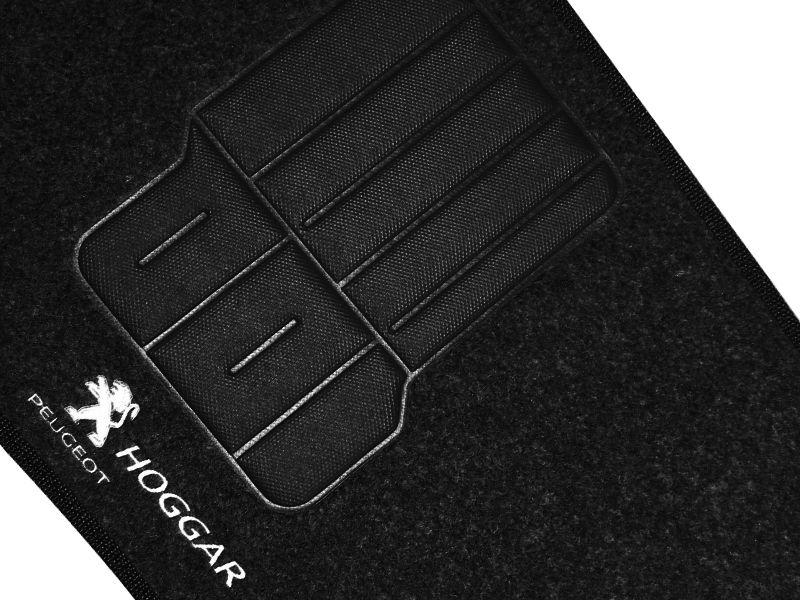Tapete Carpete Peugeot Hoggar 2010 2011 2012 2013 2014 Personalizado com bordado nos dois tapetes dianteiros (3 peças)