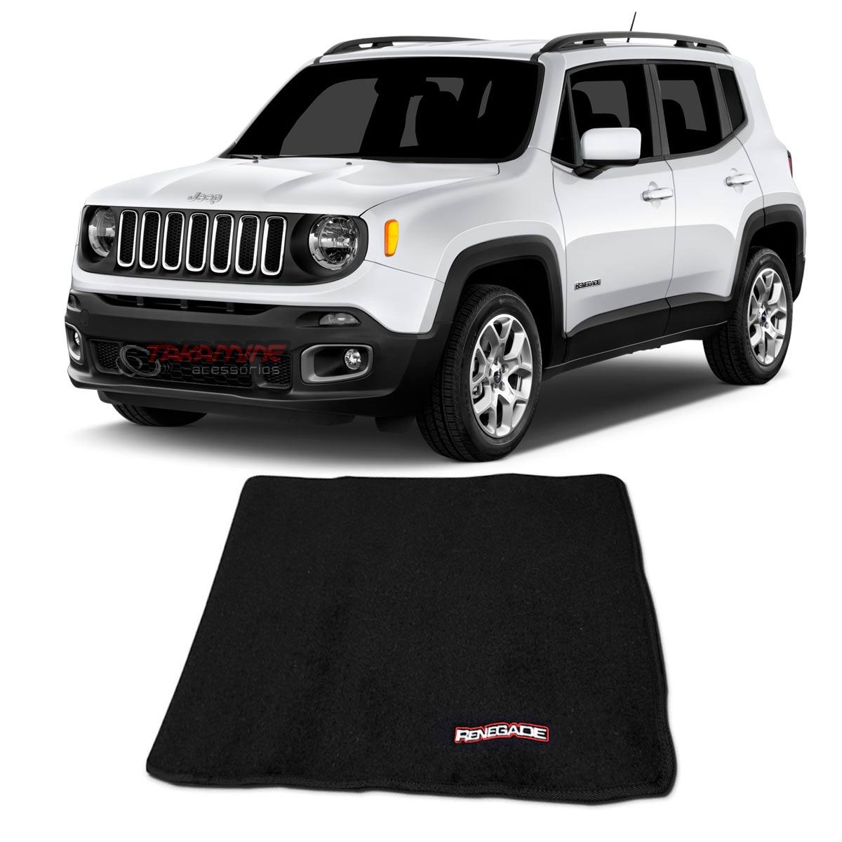 Tapete porta malas Jeep Renegade 2015 2016 2017 2018 2019 2020
