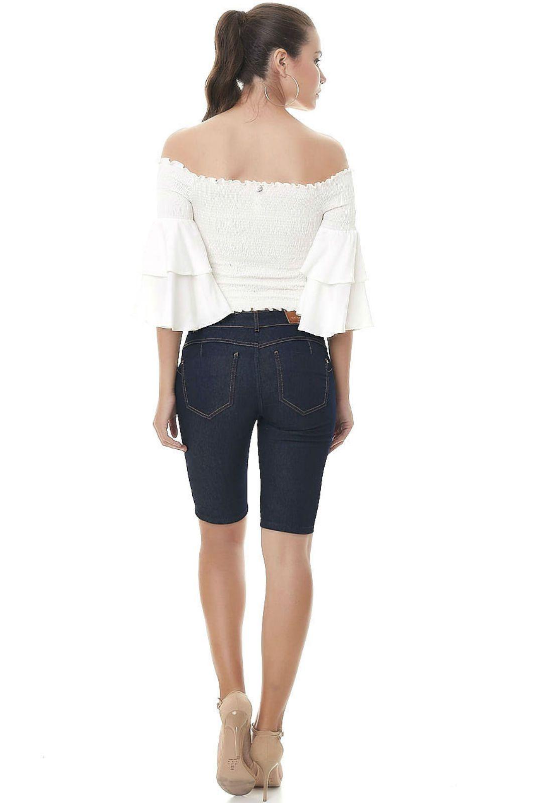 Bermuda gatabakana jeans
