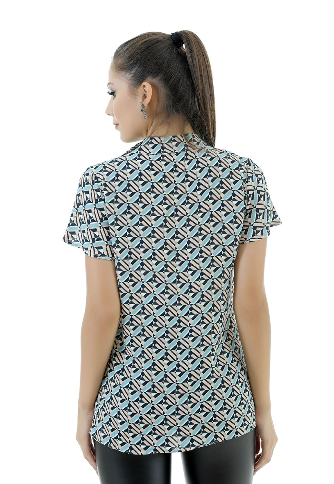 Blusa de viscose Unique Chic