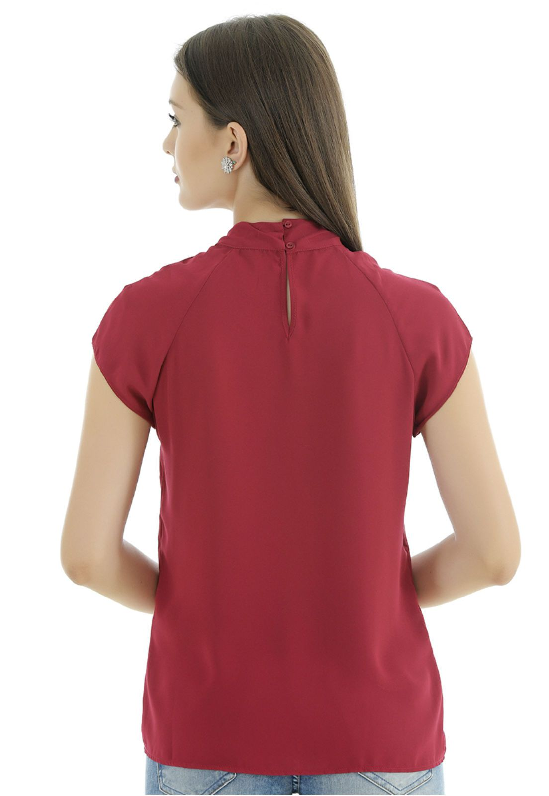 Blusa marsala Unique Chic