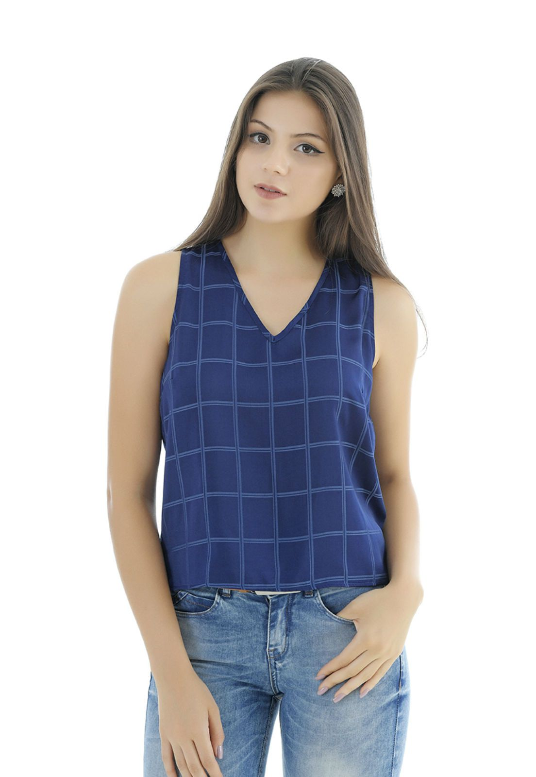 Blusa Unique Chic regata