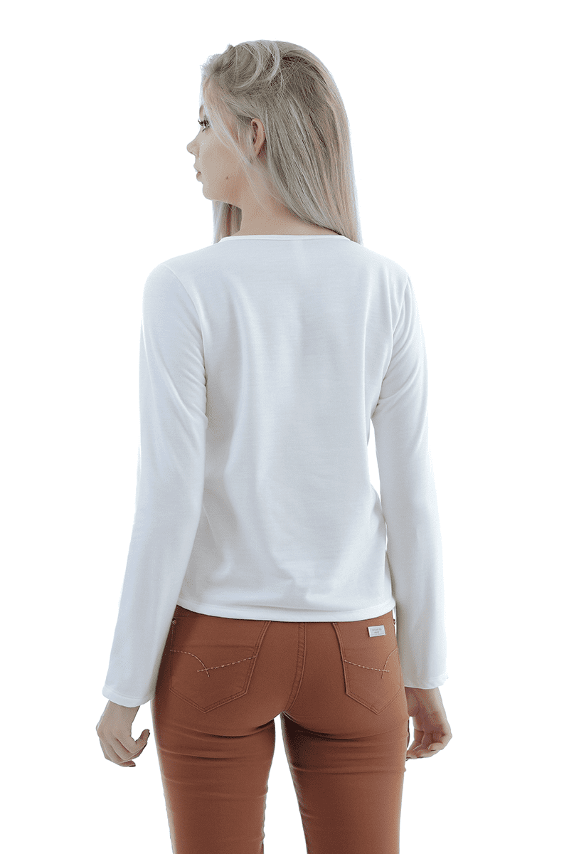 Blusão de moletinho gatabakana