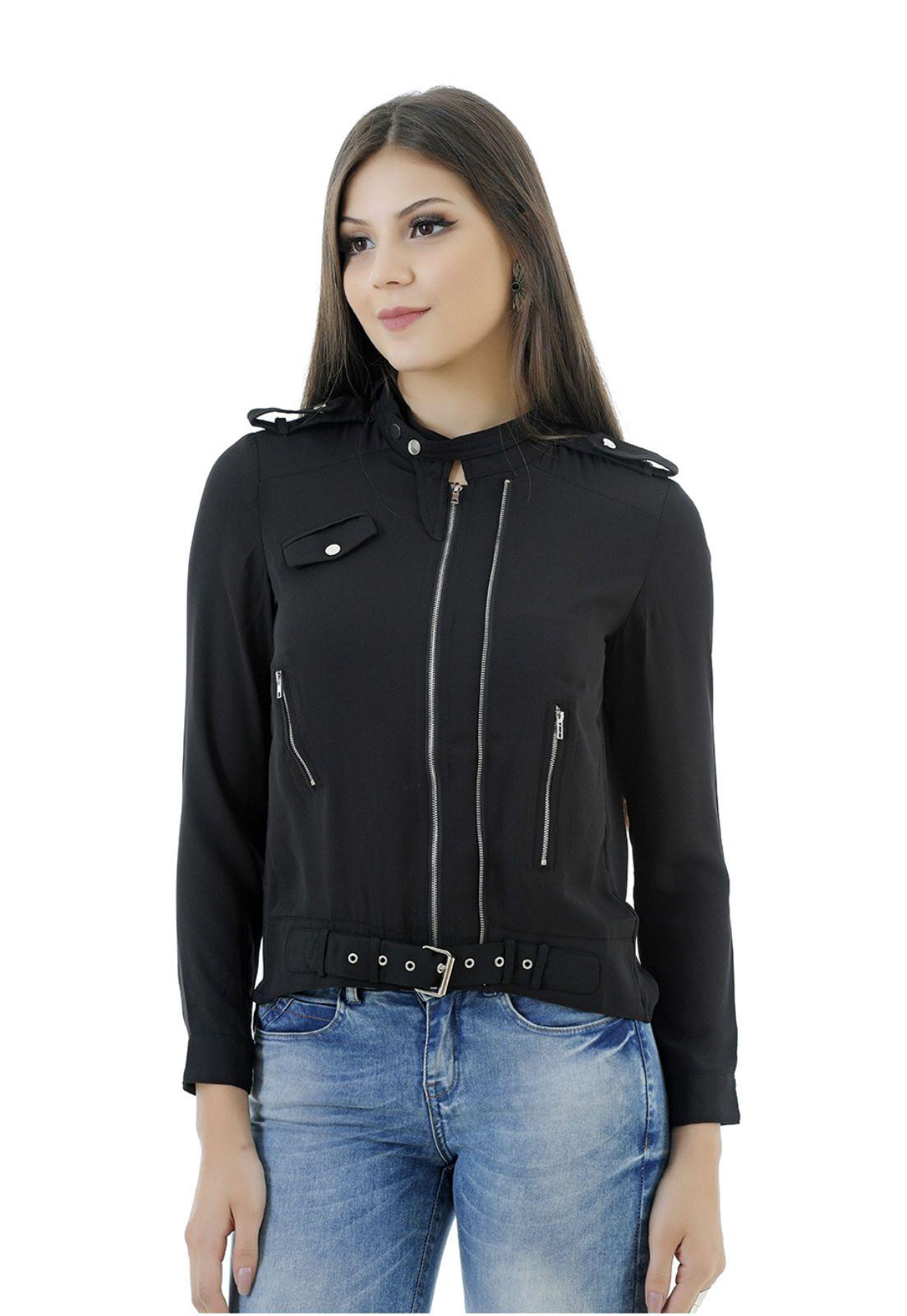 Blusão preto Dolce Vita