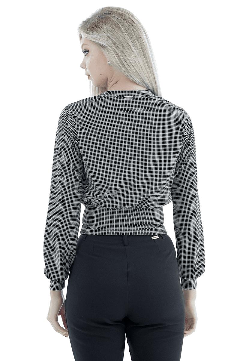 Blusão xadrez gatabakana