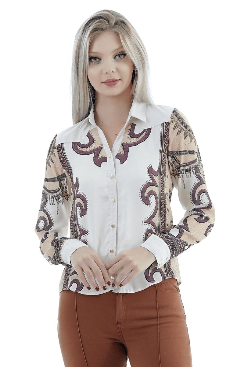 camisa country Gatabakana