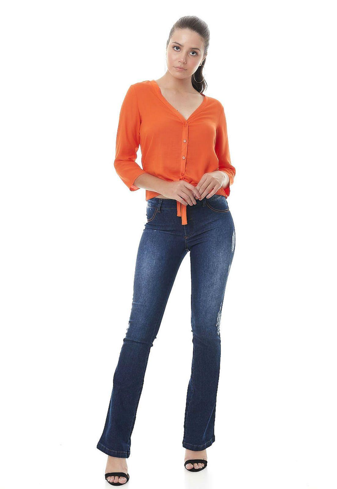 Camisa Gatabakana laranja