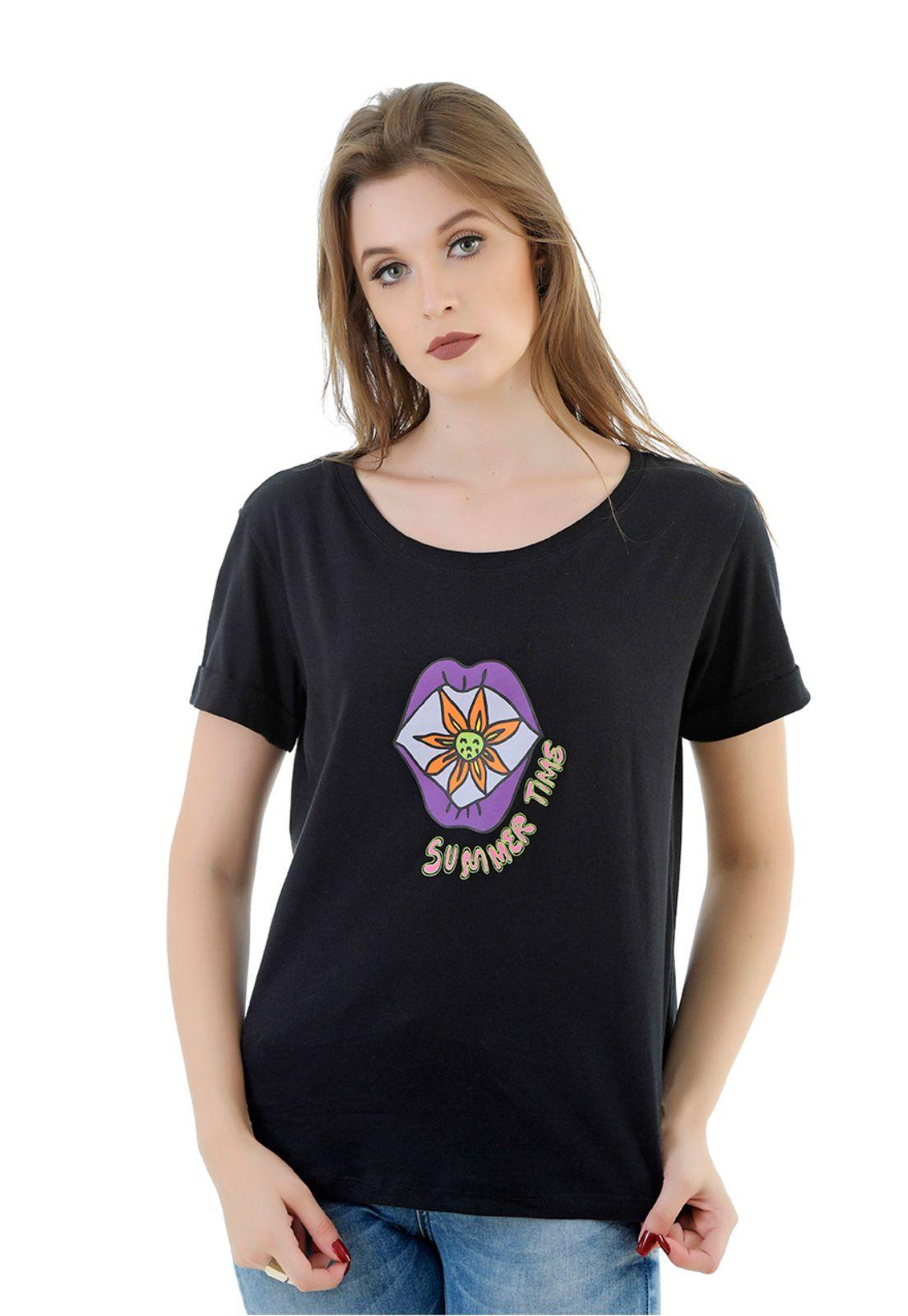 Camiseta Amissima Preta