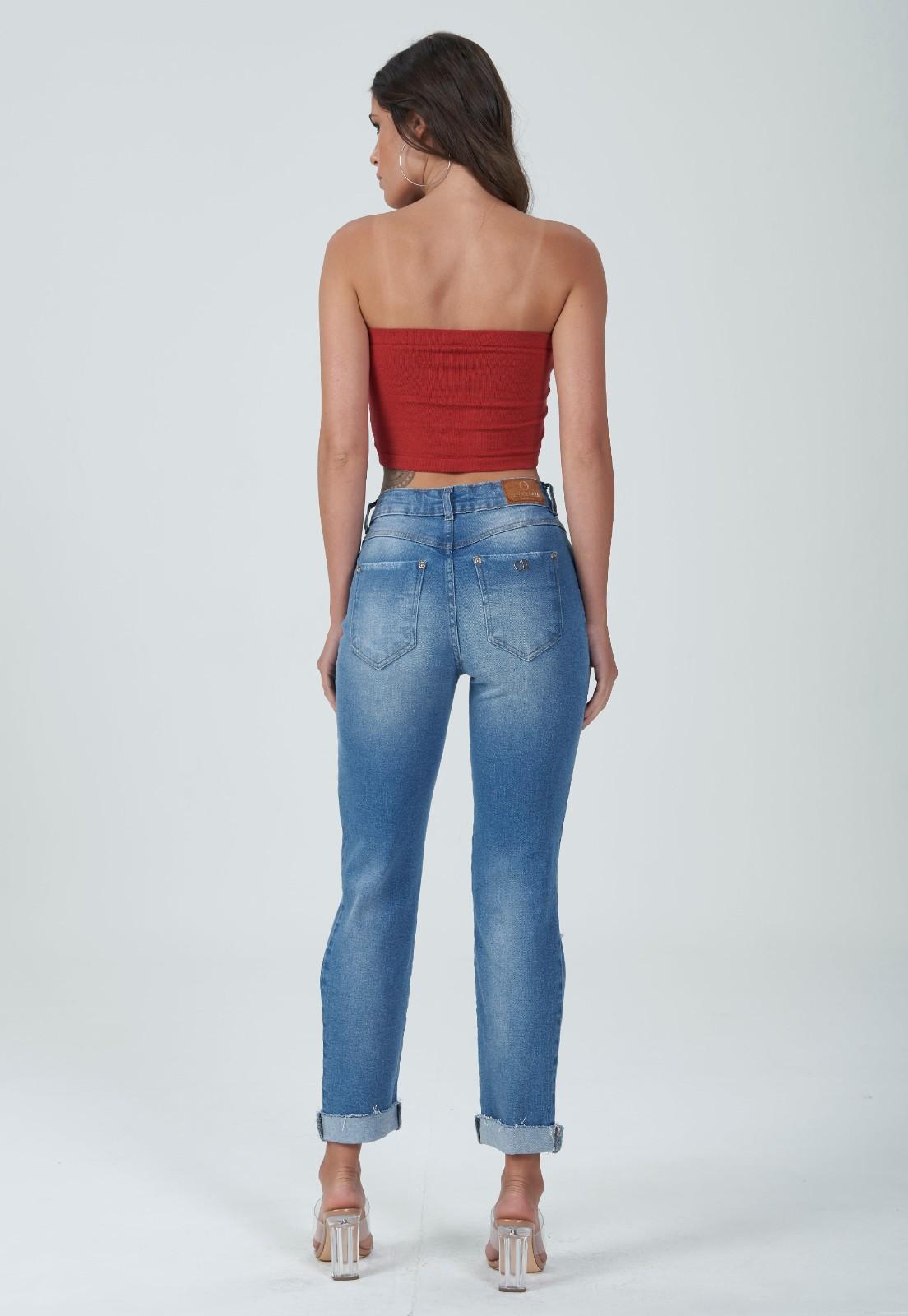 Cigarrete jeans detonada