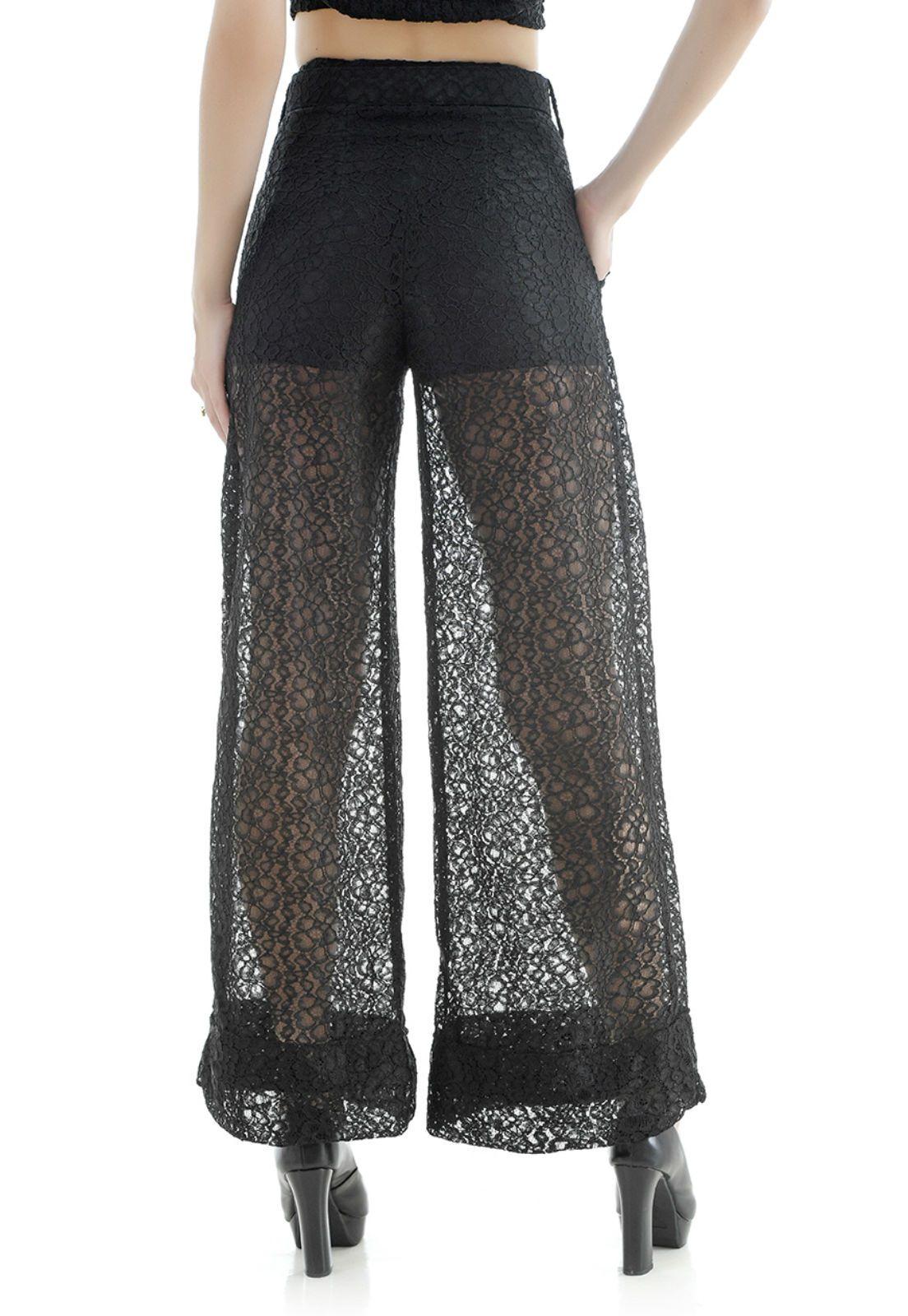 Conjunto pantalona preto