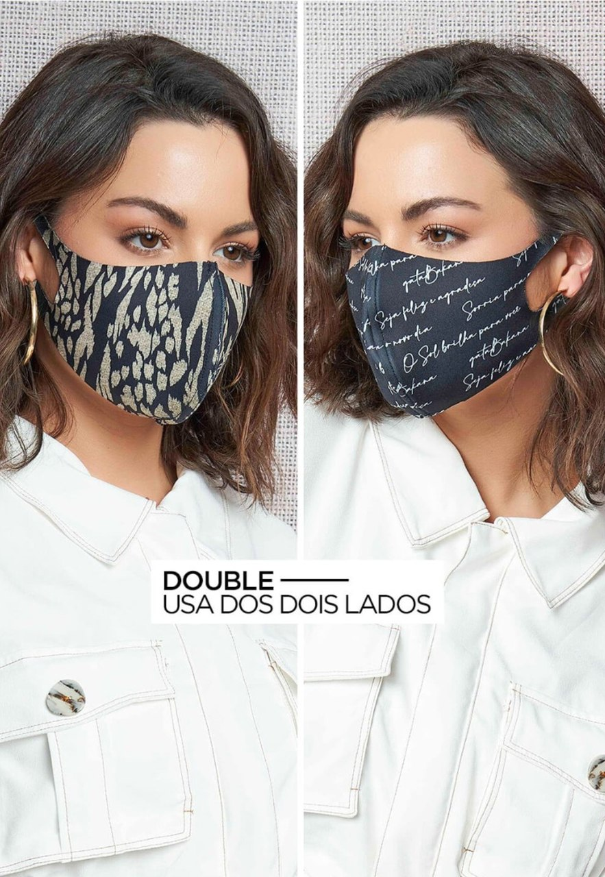 Máscara double Gatabakana
