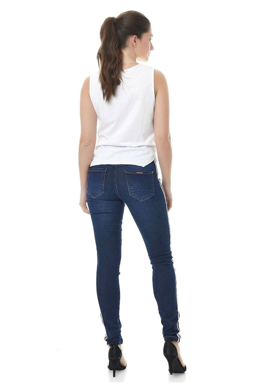 skinny jeans esportiva gatabakana