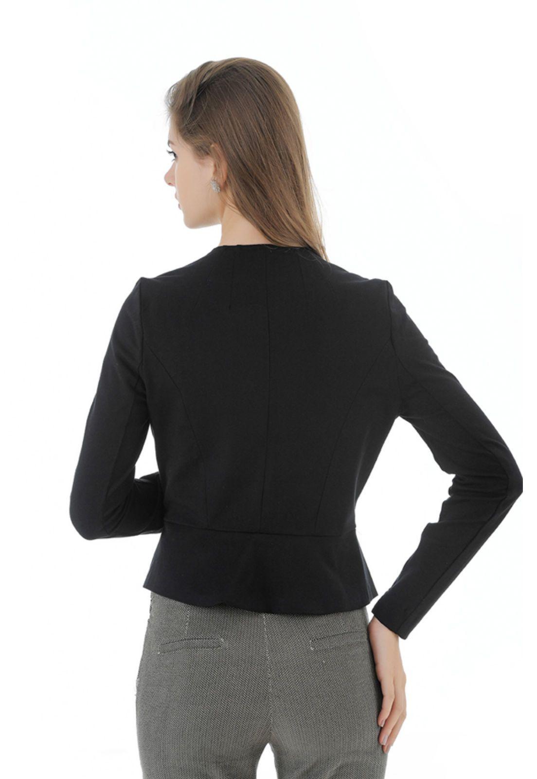 Terninho feminino preto