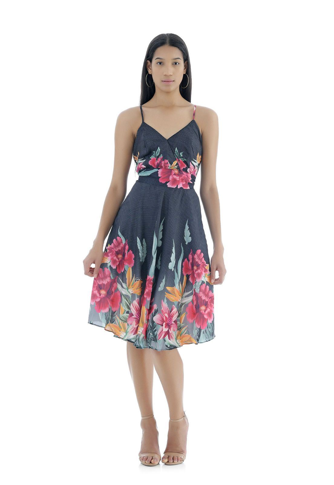 Vestido Florido Gatabakana