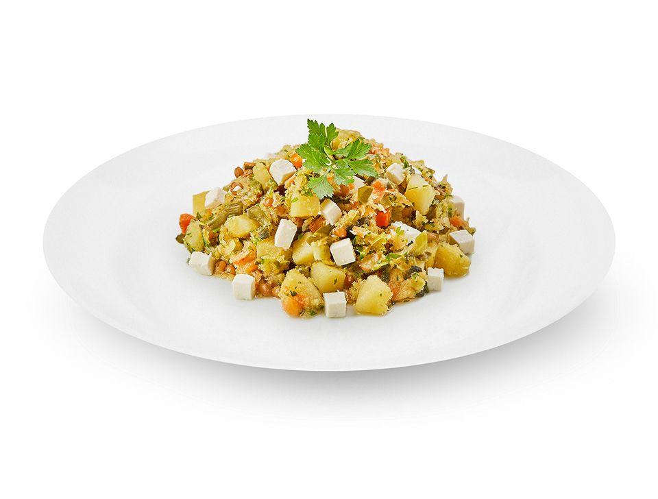 Atoladinho de legumes com tofu (vegano)