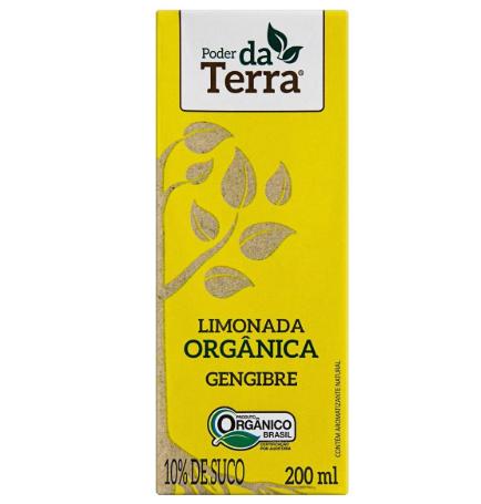 Limonada Orgânica com Gengibre