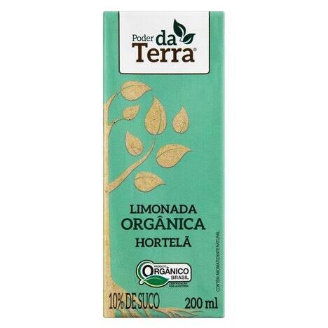 Limonada Orgânica com Hortelã