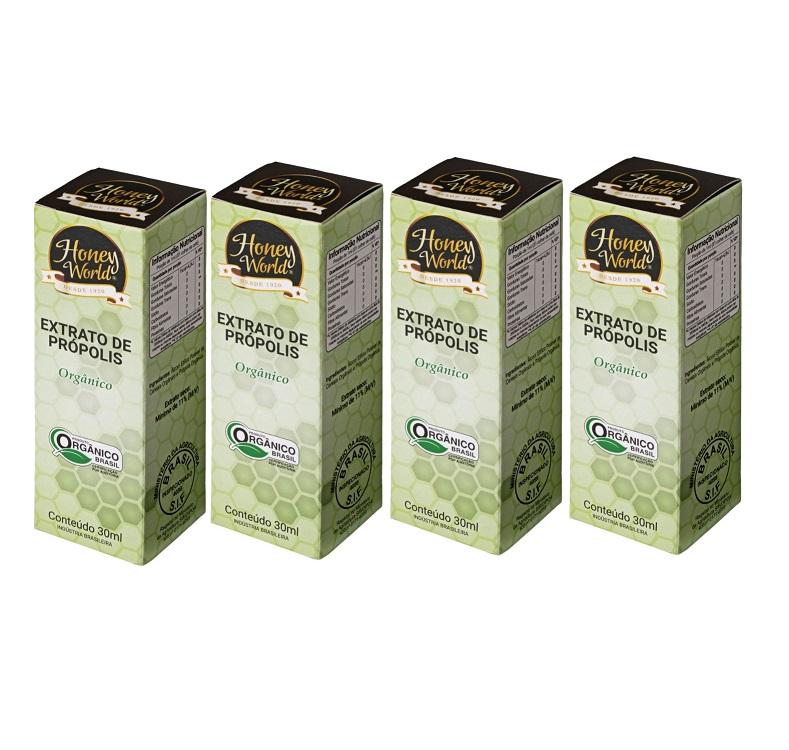 Extrato de Própolis Verde  - Kit c/04 unidades
