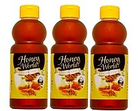 Mel Honey World Gourmet - 1,07Kg - 03 Unidade