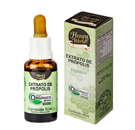 Extrato de Própolis Verde Alecrim ORGANICO, 11% concentrado - em gotas