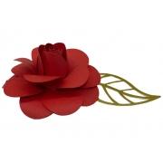 Flor para bolo 9cm
