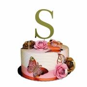 Topper cake letras/números diversos