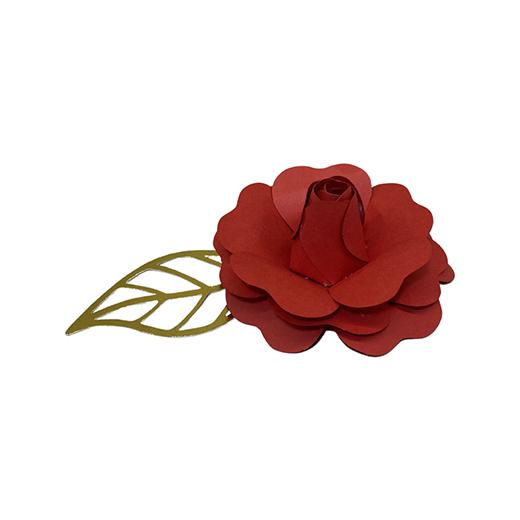 Flor p/ bolo cores 9cm