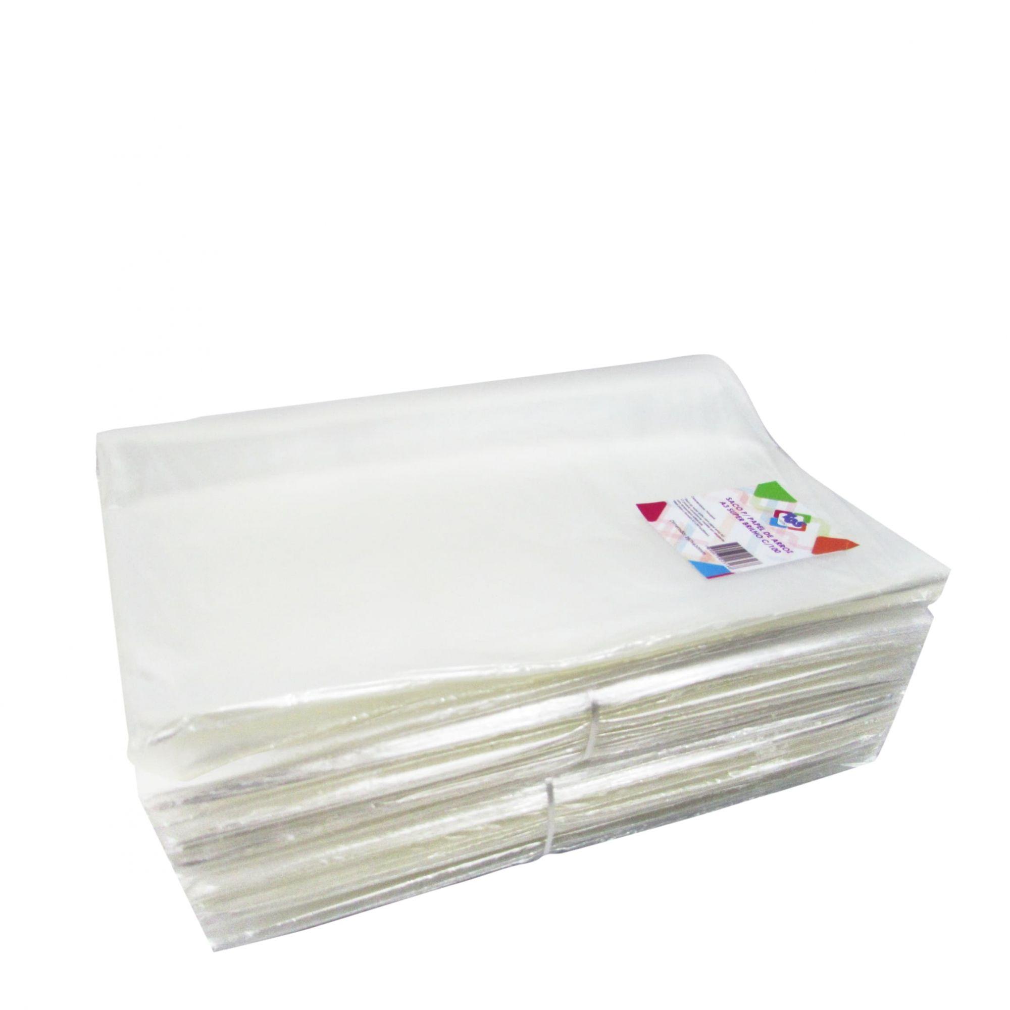 Saco p/ papel de arroz a4 c/100