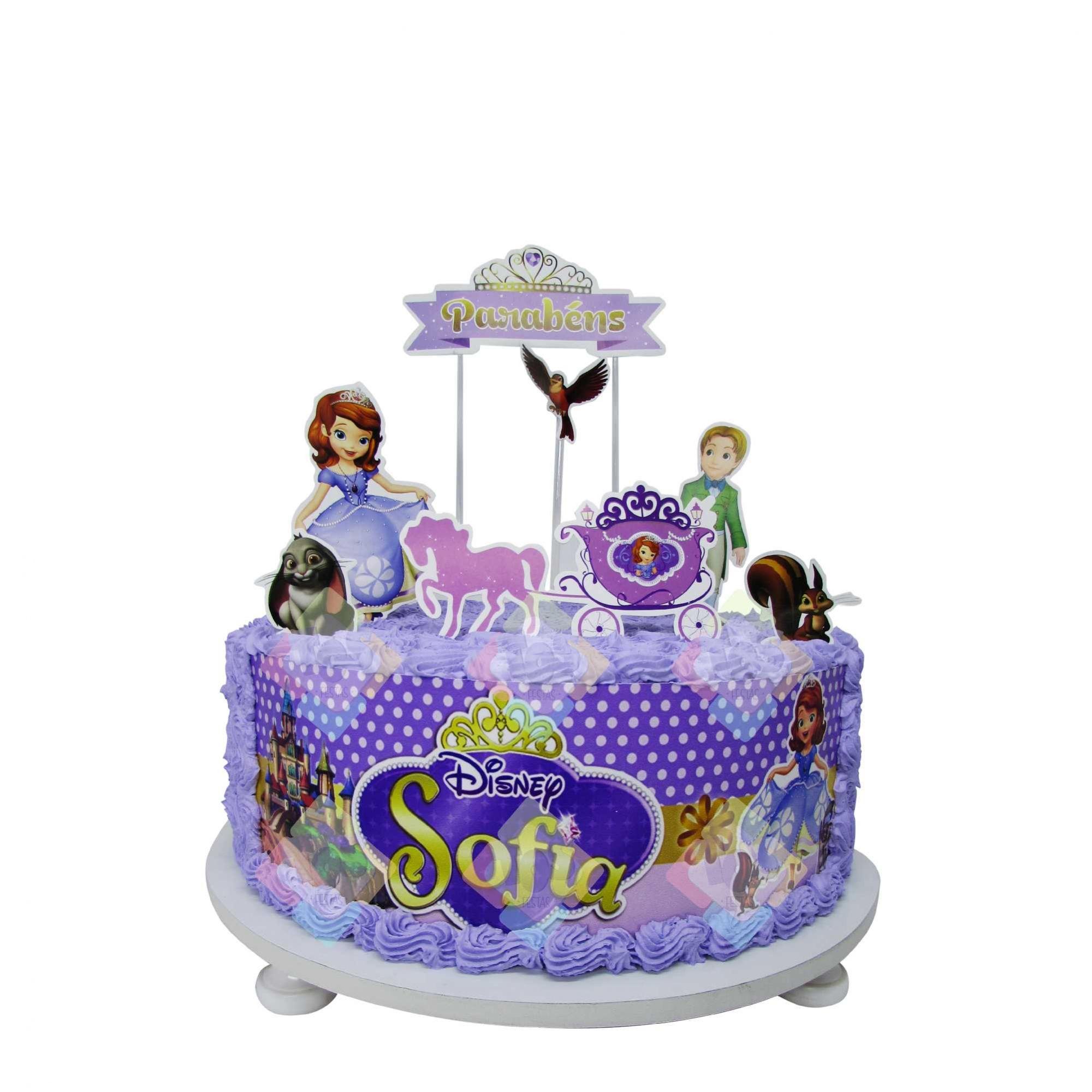 Topper cake diversos varejo