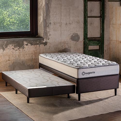 Bicama Uno com cama auxiliar