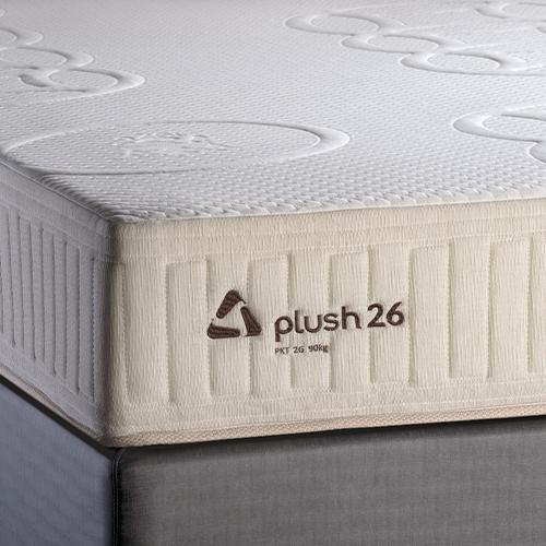 Conjunto Colchão de Mola Trinomio Plush 26 + Sommier 34 de Altura