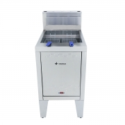 Fritadeira a Gás Água e Óleo 66 Litros Inox Venâncio - SFAOG70