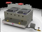 Fritadeira Retangular a Gás 10 Litros com 2 Cestos Progás - PR-20G