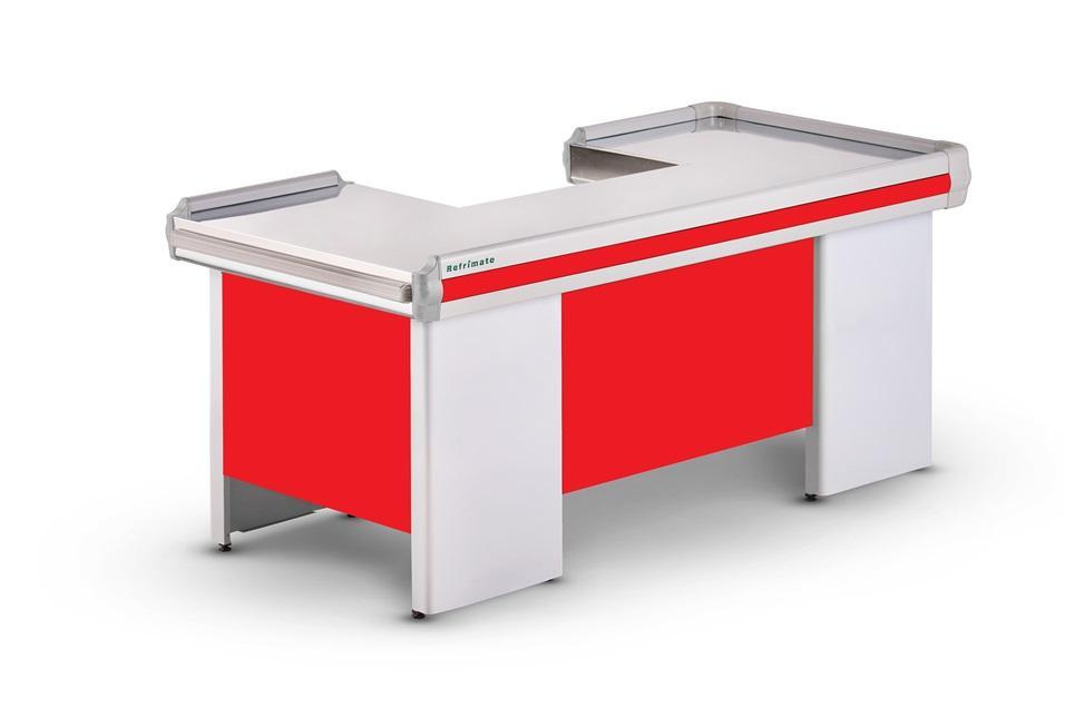 Balcão Checkout Caixa de Supermercado 2,05m Refrimate - COTE 2050