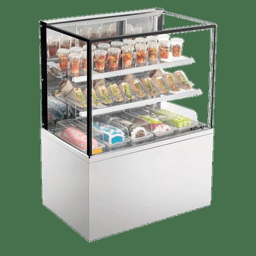 Balcão Confeitaria Refrigerado 1,0m New Titanium Inox Refrimate - CRNT 1000