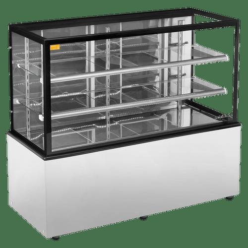 Balcão Confeitaria Seco 1,5m New Titanium Inox Refrimate - CSNT 1500
