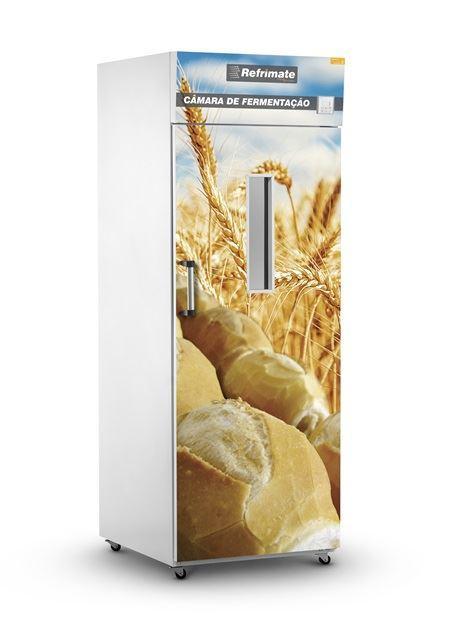 Câmara de Fermentação Fechado 20 Esteiras com rodízio Refrimate - CF20E