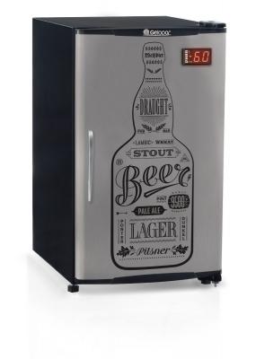 Cervejeira 120 Litros Porta Cega Inox - GRBA-120 GW