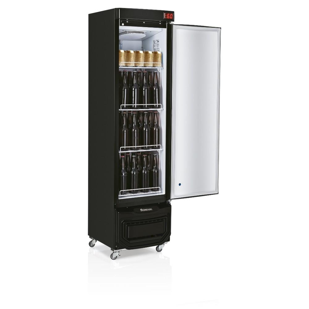 Cervejeira Gelopar 230L Porta Cega Adesivada Tipo Inox - GRB-23EPGW