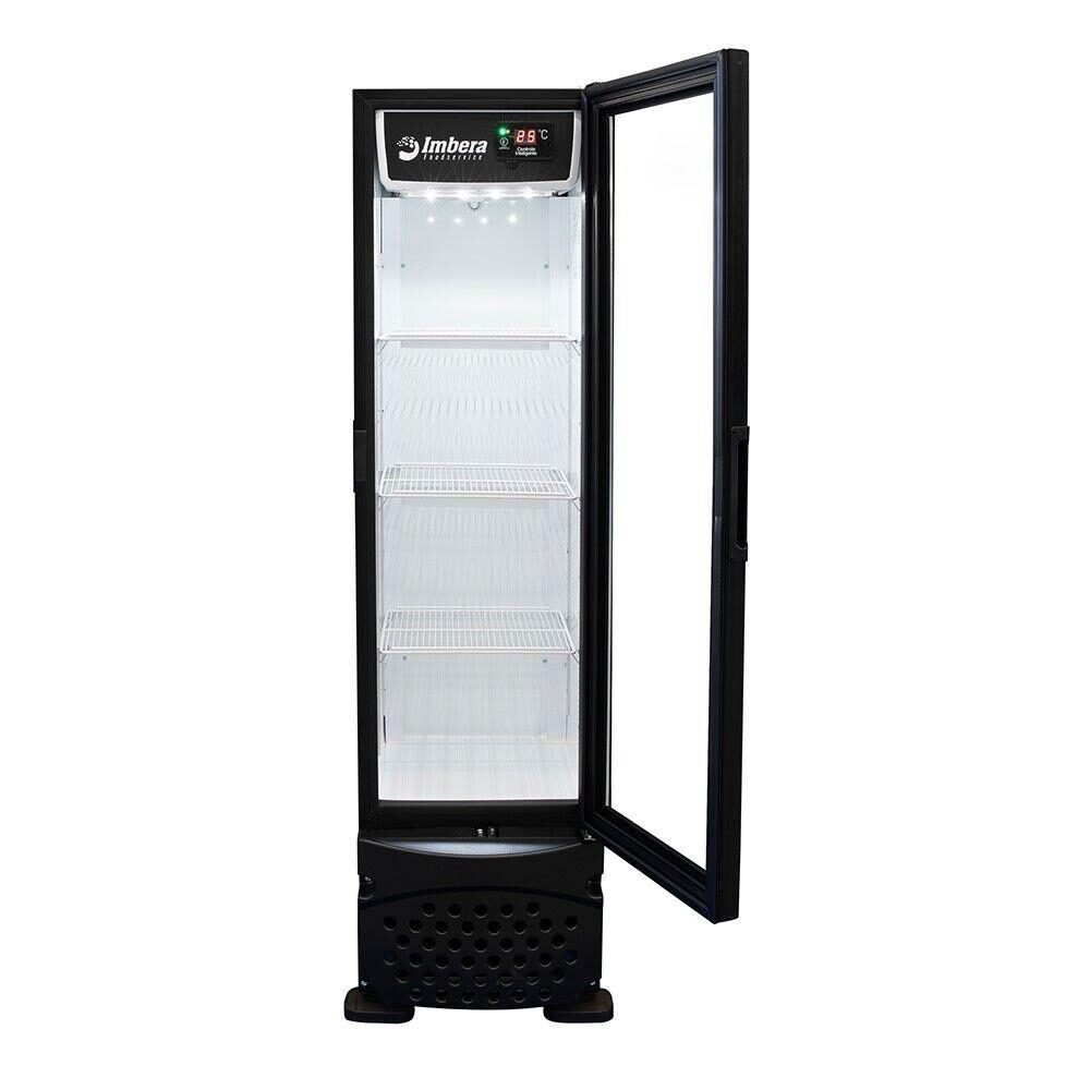 Cervejeira Porta de Vidro Vertical 230 Litros Imbera - CCV144PV