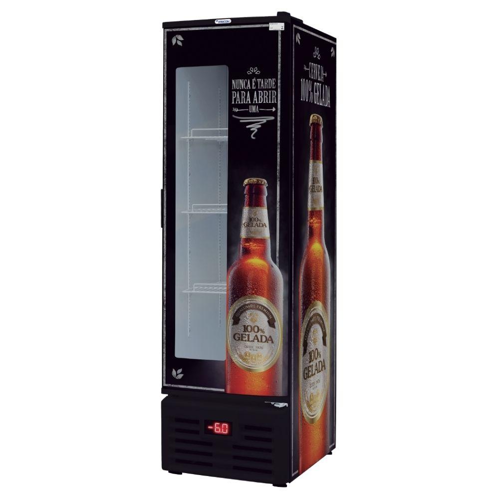 Cervejeira 284L Fricon Porta com Visor 4CX - VCFC 284 D