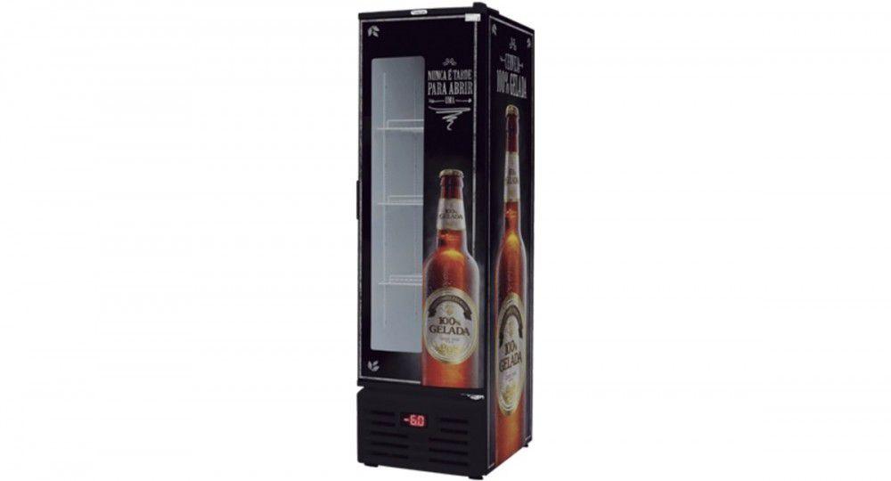 Cervejeira 284lt Porta com Visor 4CX