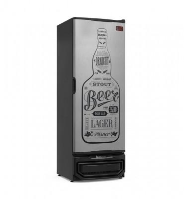 Cervejeira Gelopar 410L Porta Cega Tipo Inox - GRBA400GW