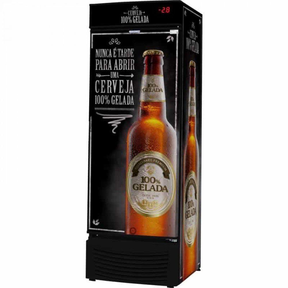 Cervejeira 431L Preta Fricon - VCFC-431C